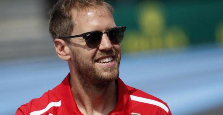 F1 Vettel Ferrari