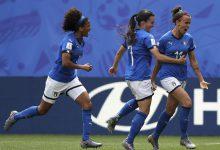 Italia-Brasile Sara Gama Nazionale calcio femminile