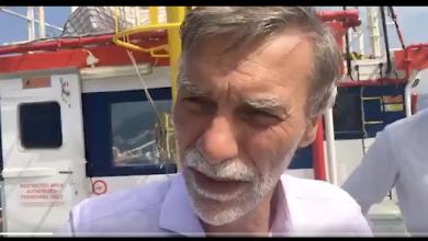 Graziano Delrio dalla Sea Watch