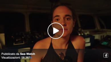 L'ultimo video di Carola Rackete dalla Sea Watch