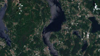 Lago maggiore annegato