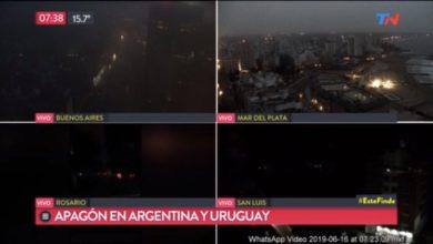 blackout argentina uruguay
