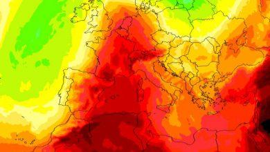 caldo africano in arrivo