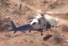 elicottero barella video