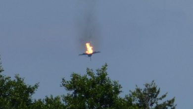 eurofighter aerei schianto germania