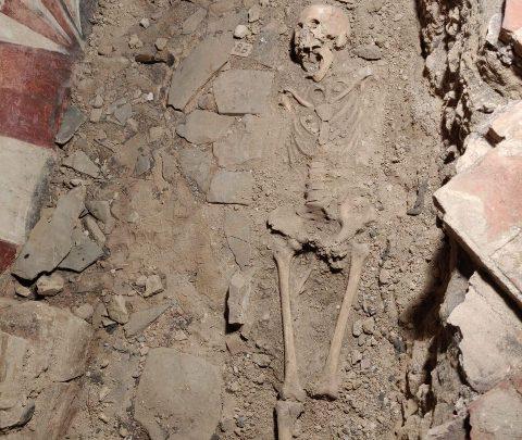 scheletro Uffizi