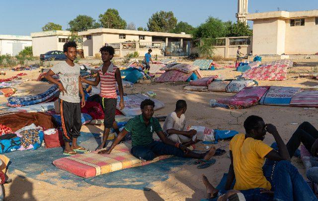 migranti libia centro detenzione