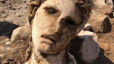 Roma scavi busto