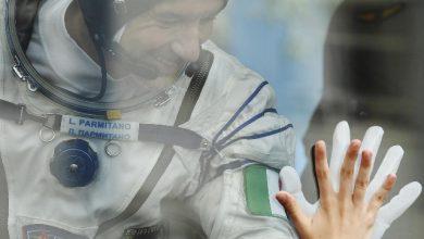 Luca Parmitano stazione spaziale