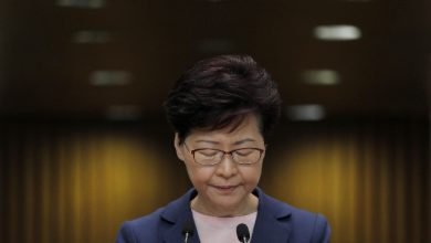 Carrie Lam Hong Kong proteste