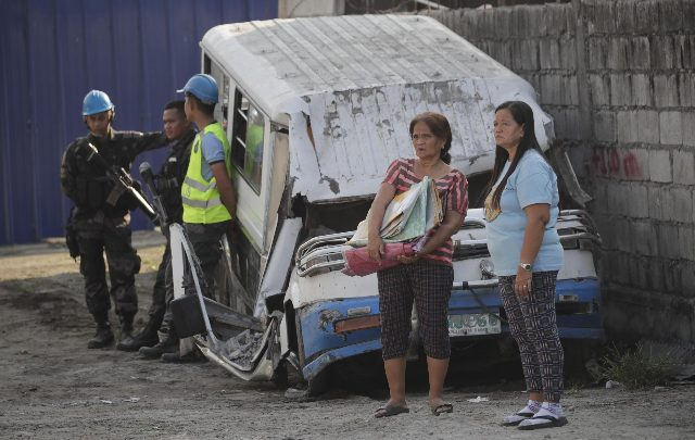 Terremoto Filippine - Fonte ANSA