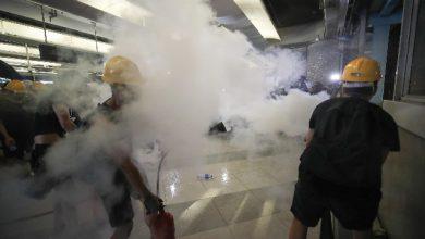 hong kong protesta polizia