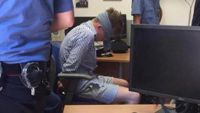 foto americano bendato carabiniere ucciso