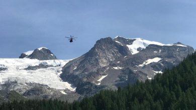 alpinista monte rosa