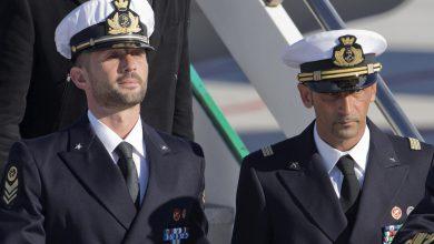 Marò Massimiliano Latorre e Salvatore Girone