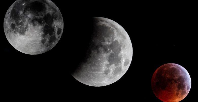 eclissi di luna 2019