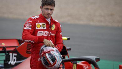 GP Silverstone Charles Leclerc