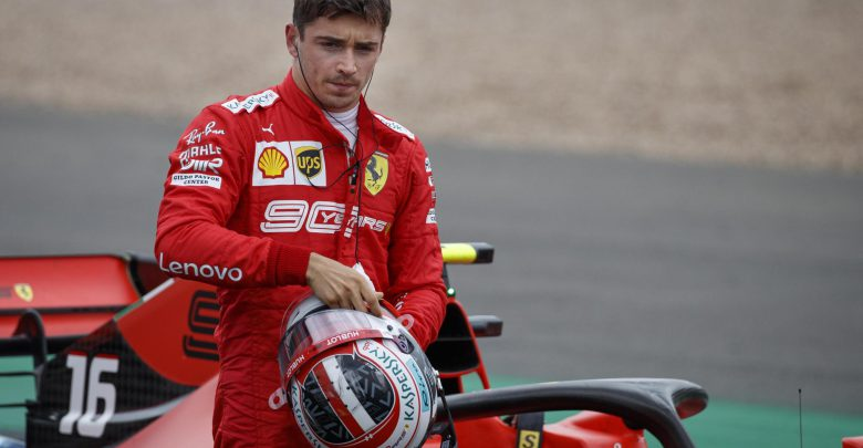 GP Silverstone Charles Leclerc