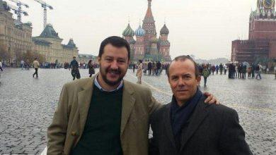 Savoini e Salvini Lega