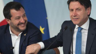 Conte Salvini Lega
