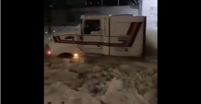 Grandinata in Messico - video