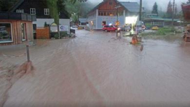 Austria, alluvioni. Fonte TIPS