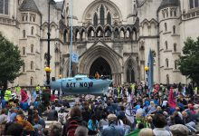 Extinction Rebellion Londra
