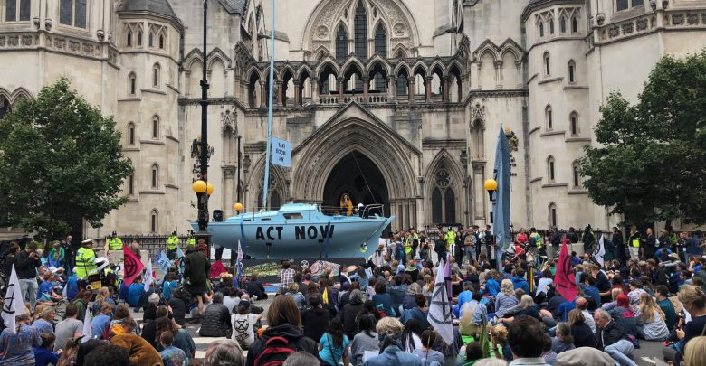 Extinction Rebellion Londra