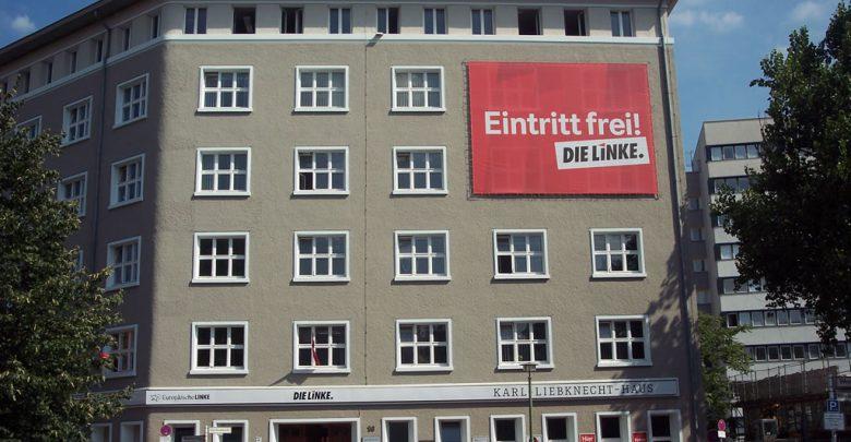 allarme bomba die linke berlino