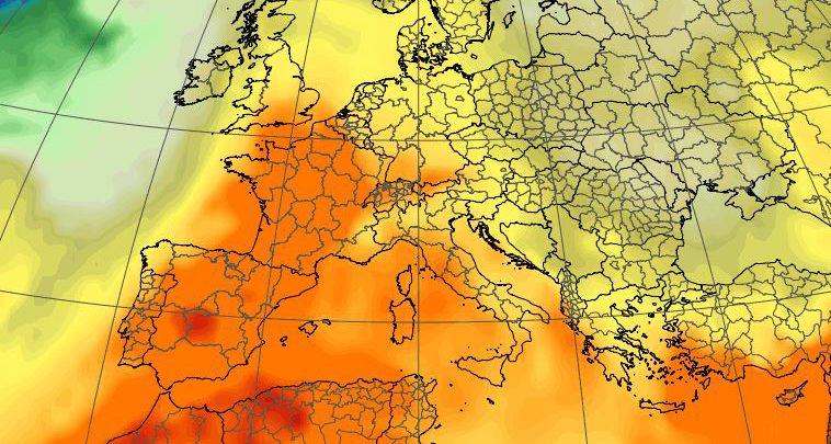 caldo africano meteo