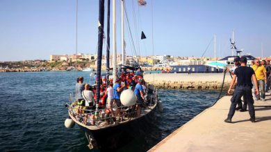 Alex Mediterranea Lampedusa