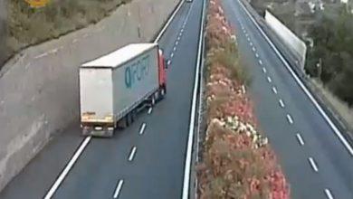 Contromano sull'A10 tra Sanremo e Bordighera