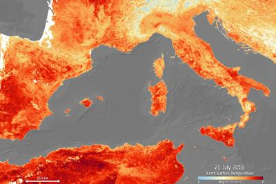 Europa caldo - Esa
