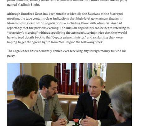 Salvini Lega Putin
