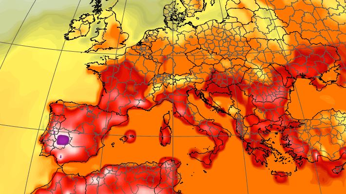ondata di caldo in arrivo temperature