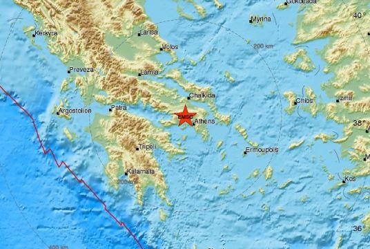 terremoto atene grecia