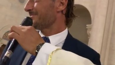 totti prete video