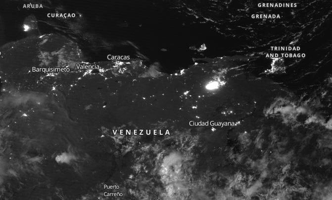 venezuela blackout guaidò