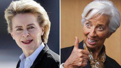 Ursula von der Leyen - Christine Lagarde