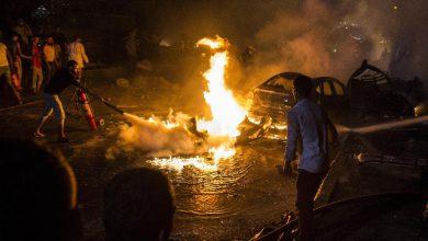 cairo auto esplosione