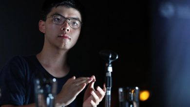 hong kong attivista arrestato Joshua Wong