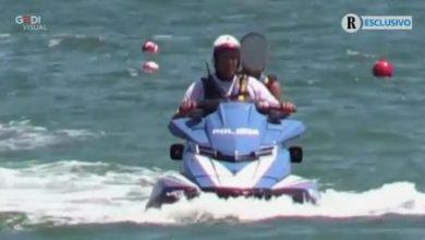 Salvini moto d'acqua polizia