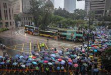 Hong Kong, manifestazione professori