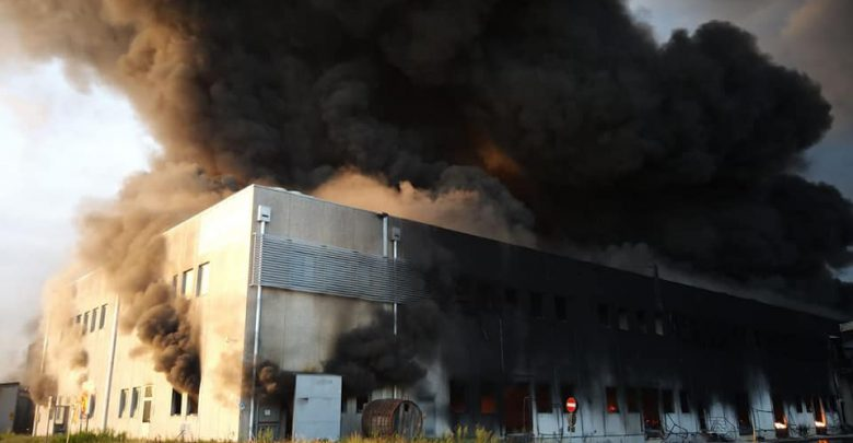 incendio Faenza