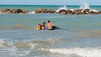 Ortona, tragedia in mare