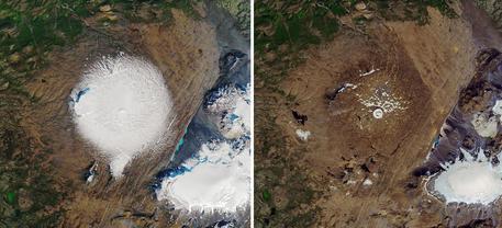 Islanda ghiacciaio scomparso