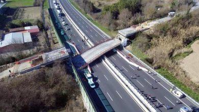 crollo ponte A14