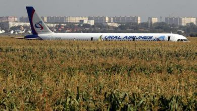 Russia, atterraggio d'emergenza aereo