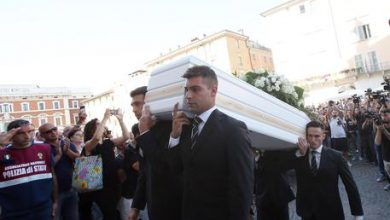 Nadia Toffa funerali