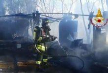 Cagliari incendio